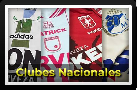 Camisetas Clubes Nacionales Ciudad de Camisetas